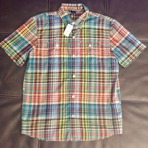 Gap Kids Plaid Button Down